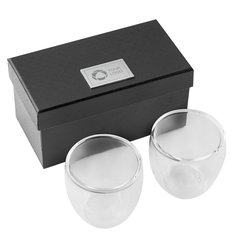 Seasons™ 2 Piece Espresso Set, Laser Engraved