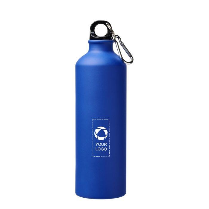 Botella deportiva mate con mosquetón de 770 ml Pacific de Bullet™