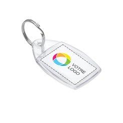 Porte-clés avec image à insérer
