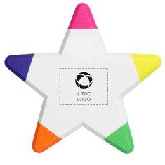 Evidenziatore Solvig Star Bullet™