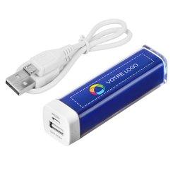 Batterie externe 2200mAh Flash Bullet™ imprimée en couleur