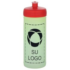 Botella deportiva comprimible Glow de 16 onzas