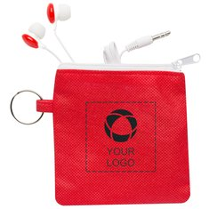 Star Earbuds with Pouch