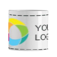 Mini Sublim Ceramic Mug 200ml Full Colour Print
