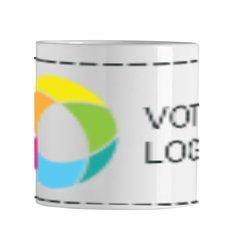 Mini mug en céramique 200ml Sublim imprimé en couleur