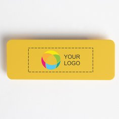 Large Logo Only Name Badge with Pin, Pack of 10