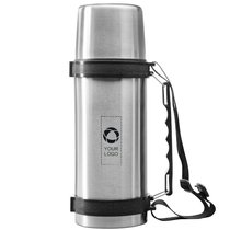 Avenue™ Everest isolating flask with strap