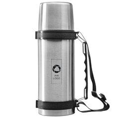 Isolierflasche Everest mit Riemen von Avenue™