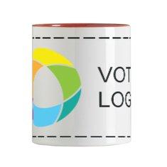 Mug en céramique blanc 300ml Sublim imprimé en couleur