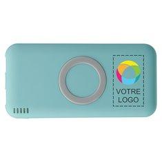 Batterie externe sans fil 6000mAh Coma d'Avenue™ imprimée en couleur