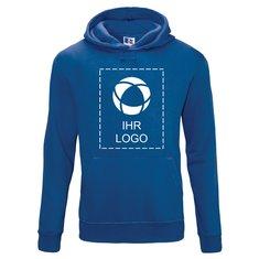 Kapuzensweatshirt Authentic von Russell™ mit einfarbigem Druck