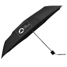 Bullet™ paraply med teleskopskaft i tre sektioner