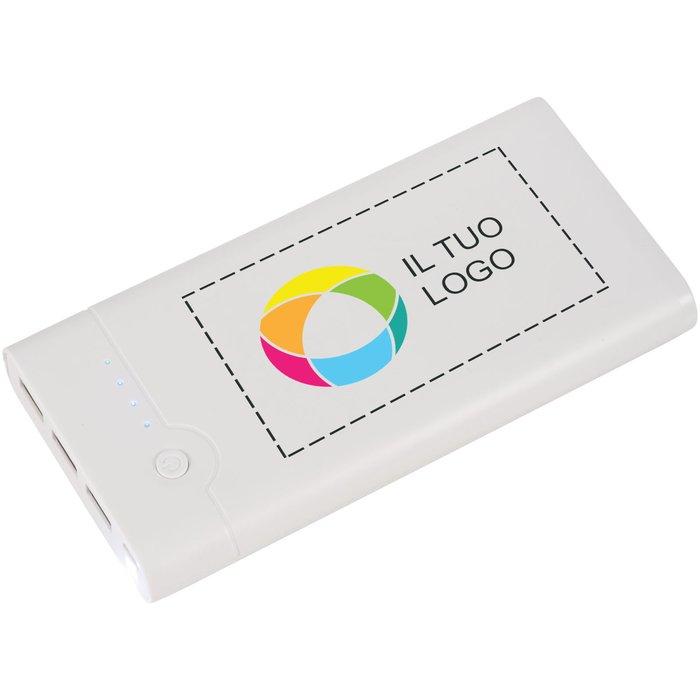 Caricabatterie portatile da 20.000 mAh Relay Avenue™ con stampa a colori