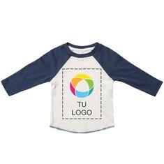 Camiseta para bebés de estilo béisbol de Mantis™