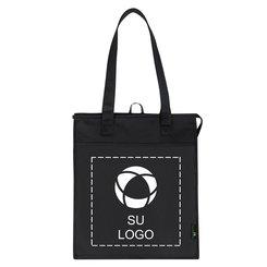 Amplia bolsa de tela aislada, de polipropileno no tejido, para compras
