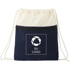 Bolsa de algodón con cordón de cierre Captain