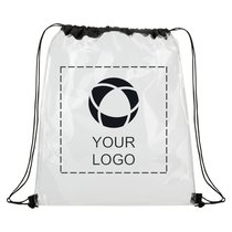 Rally Clear Cinch Bag
