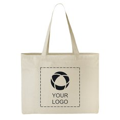 Classic Cotton All-Purpose Convention Tote Bag
