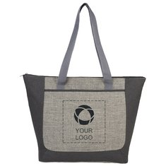 Reclaim Recycled Zippered Tote
