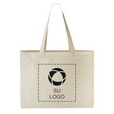 Bolsa de tela clásica de algodón multiusos para convenciones