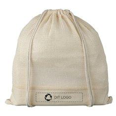 Bullet™ Maine rygsæk af bomuldsnet med løbesnor