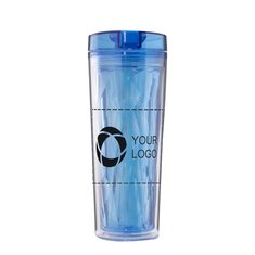 Avenue™ Hot & Cold Flip n Sip Geometric Insulating Tumbler
