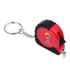 Bullet™ Habana måttband 1 m med nyckelring och fyrfärgstryck