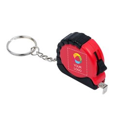 Bullet™ Habana 1M Measuring Tape Key Chain Full Colour Print