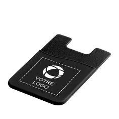 Porte-cartes en silicone