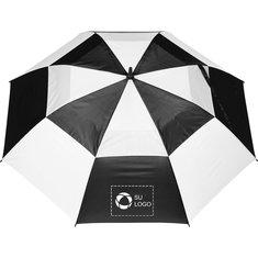 Paraguas de golf de fibra de vidrio a prueba de viento