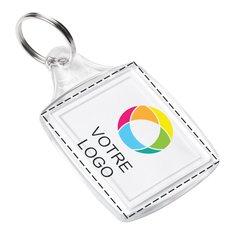 Porte-clés classique avec image à insérer