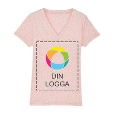 Stella Evoker T-shirt i dammodell med V-ringning och bläcktryck