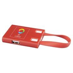 Bullet™ USB-hub en 3-in-1-kabels met full-colour drukwerk