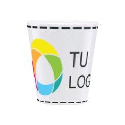 Taza para café con leche con estampado a todo color de Duraglaze®