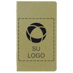Libreta reciclada miniatura de bolsillo