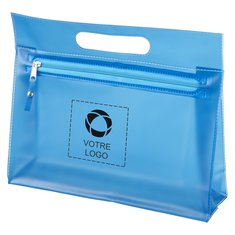 Trousse de toilette en PVC transparent Paulo de Bullet™