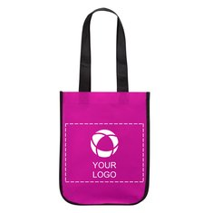 Small Laminated Non-Woven Shopper Tote