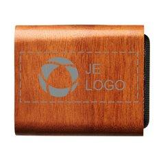 Avenue™ houten speaker met draadloze oplader