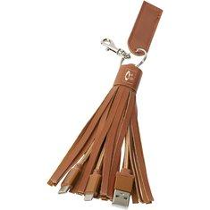 3-in-1-Kabel mit Textilummantelung Tassel von Avenue™