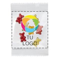 Corazones de golosina con sabor a frutas de calidad superior, paquete de 250 unidades