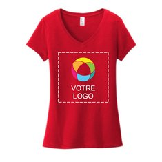 District® Women's Very Important Tee® V-Neck with Full-Front Print