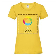 Fruit of the Loom® Valueweight Dames-T-shirt