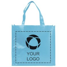 Bullet™ Shiny Laminated Non-Woven Shopping Tote Bag