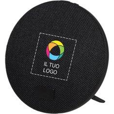 Altoparlante Bluetooth® e supporto con stampa a colori Fabric Avenue™