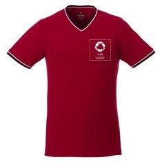 Kurzärmeliges Herren-Pikee-Shirt Elbert von Elevate™
