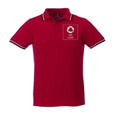 Herren-Polohemd mit Kurzarm und Schmuckkanten Fairfield von Elevate™