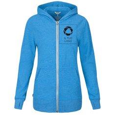 Elevate™ Garner Full Zip Hooded Ladies Sweater