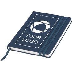 JournalBooks™ A5-notesbog i denimfarve