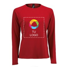 Camiseta de manga larga Sporty de Sol's® para mujer