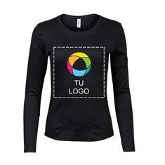 Camiseta de manga larga en tejido interlock para mujer de Tee Jays®